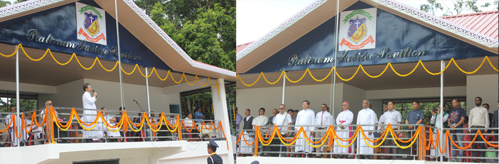 INAUGURATION OF THE PLATINUM JUBILEE PAVILION